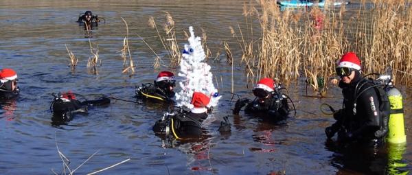 Podvodno kićenje jelke