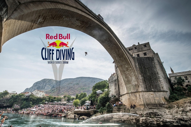 Red Bull Cliff Diving 2016